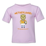 Netherlands 2014 FIFA World Cup Brazil(TM) Kids Mascot T-Shirt (Pink)