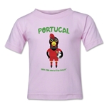 Portugal 2014 FIFA World Cup Brazil(TM) Kids Mascot T-Shirt (Pink)