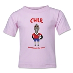 Chile 2014 FIFA World Cup Brazil(TM) Kids Mascot T-Shirt (Pink)