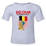 Belgium 2014 FIFA World Cup Brazil(TM) Kids Mascot Flag T-Shirt (White)