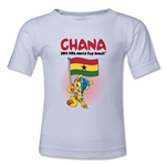 Ghana 2014 FIFA World Cup Brazil(TM) Kids Mascot Flag T-Shirt (White)