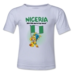 Nigeria 2014 FIFA World Cup Brazil(TM) Kids Mascot Flag T-Shirt (White)