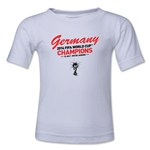Germany 2014 FIFA World Cup Brazil(TM) Kids Champions T-Shirt (White)
