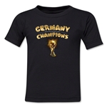 Germany 2014 FIFA World Cup Brazil(TM) Kids Champions Trophy T-Shirt (Black)