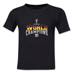 Germany 2014 FIFA World Cup Brazil(TM) Kids World Champions T-Shirt (Black)