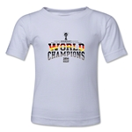 Germany 2014 FIFA World Cup Brazil(TM) Kids World Champions T-Shirt (White)