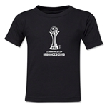 FIFA Club World Cup Morocco 2013 Kids Official Emblem T-Shirt (Black)