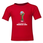 FIFA Club World Cup Morocco 2014 Kids Core T-Shirt (Red)