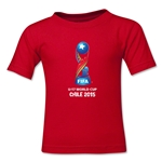 FIFA U-17 World Cup Chile 2015 Kids Core T-Shirt (Red)