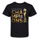 FIFA Women's World Cup Kids T-Shirt (Black)
