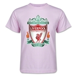 Liverpool Crest Kids T-Shirt (Pink)