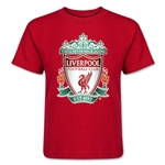 Liverpool Crest Kids T-Shirt (Red)