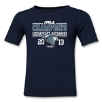 MLL 2013 Champions Youth T-Shirt (Navy)