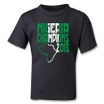 Nigeria 2013 Champions of Africa Kids T-Shirt (Black)