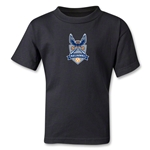 Carolina Railhawks Kids T=Shirt (Black)