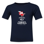 FC Santa Claus Milk and Cookies Kid's T-Shirt (Navy)