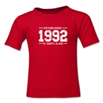 FC Santa Claus Established 1992 Kid's T-Shirt (Red)