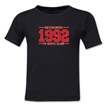 FC Santa Claus Established 1992 Kid's T-Shirt (Black)