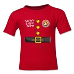 FC Santa Claus Santa's Little Helper Kid's T-Shirt (Red)
