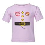 FC Santa Claus Santa's Little Helper Kid's T-Shirt (Pink)