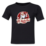 FC Santa Claus Animated Santa Kid's T-Shirt (Black)