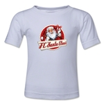 FC Santa Claus Animated Santa Kid's T-Shirt (White)