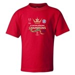 UEFA Champions League Winners Kids T-Shirt (Red)
