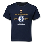 Chelsea 2013 UEL Final Kids T-Shirt (Navy)