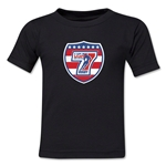 USA Sevens Rugby Kids T-Shirt (Black)