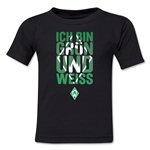 Werder Bremen I Am Green and White Kids T-Shirt (Black)