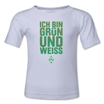 Werder Bremen I Am Green and White Kids T-Shirt (White)