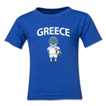 Greece Animal Mascot Kids T-Shirt (Royal)