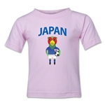 Japan Animal Mascot Kids T-Shirt (Pink)