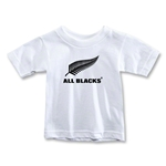 All Blacks Fern Logo Toddler T-Shirt (White)