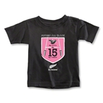 All Blacks My Boots, My Number Toddler T-Shirt (Girls)