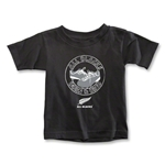 All Blacks Born & Bred Toddler T-Shirt (Black)