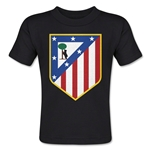 Atletico Madrid Crest Toddler T-Shirt (Black)
