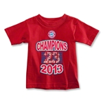 Bayern Munich 2013 Toddler Champion T-Shirt (Red)