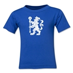 Chelsea Distressed Logo Toddler T-Shirt (Royal)