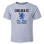 Chelsea Graphic Toddler T-Shirt (Grey)