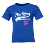 Chelsea The Blues Script Toddler T-Shirt (Royal)