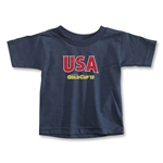 CONCACAF Gold Cup 2013 Toddler USA T-Shirt (Navy)