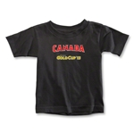 CONCACAF Gold Cup 2013 Toddler Canada T-Shirt (Black)