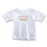 CONCACAF Gold Cup 2013 Toddler Canada T-Shirt (White)