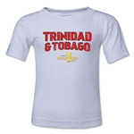 Trinidad & Tobago CONCACAF Gold Cup 2015 Big Logo Toddler T-Shirt (White)