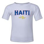 Haiti CONCACAF Gold Cup 2015 Big Logo Toddler T-Shirt (White)