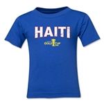 Haiti CONCACAF Gold Cup 2015 Big Logo Toddler T-Shirt (Royal)