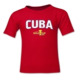 Cuba CONCACAF Gold Cup 2015 Big Logo Toddler T-Shirt (Red)