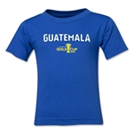 Guatemala CONCACAF Gold Cup 2015 Big Logo Toddler T-Shirt (Royal)