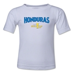 Honduras CONCACAF Gold Cup 2015 Big Logo Toddler T-Shirt (White)